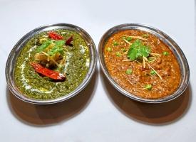 Saag & Eggplant Bharta